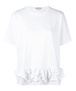 Comme Des Garçons Comme Des Garçons | Ruffle Detail T-Shirt