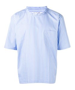 Comme Des Garçons | Shirt Short-Sleeve Stripe Shirt Medium