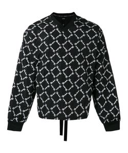 KTZ | Embroidered V-Neck Sweatshirt Men M