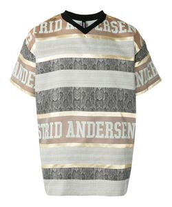 Astrid Andersen | Striped Logo T-Shirt