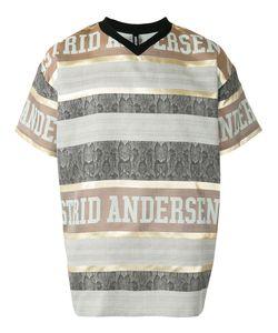 Astrid Andersen | Striped Logo T-Shirt