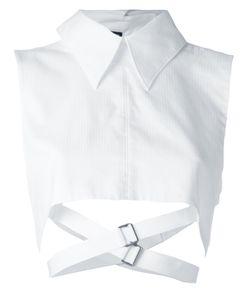 Ann Demeulemeester | Cropped Strap Shirt