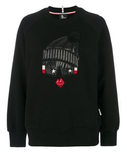 Moncler Grenoble | Embroidered Pull-Over Sweater