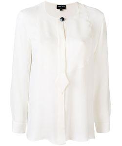 Giorgio Armani   Collarless Shirt 44