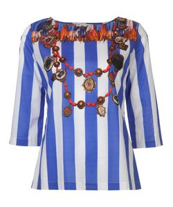 Figue | Serafina Striped Blouse S