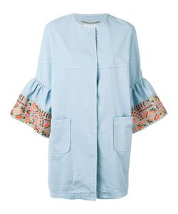 Bazar Deluxe   Embroidered Sleeve Coat 38