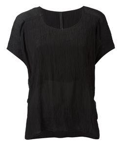 Barbara I Gongini   Crumpled Effect T-Shirt Medium