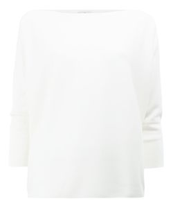 Maison Ullens | Off Shoulder Sweatshirt Small Cashmere