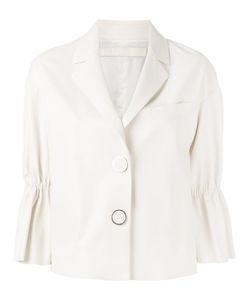 Drome | Peplum Sleeve Buttoned Jacket Size Medium