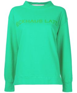 Eckhaus Latta | Printed Sweatshirt Women M