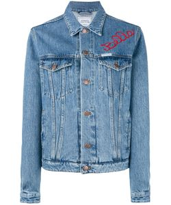 Forte Couture   Embroidered Denim Jacket