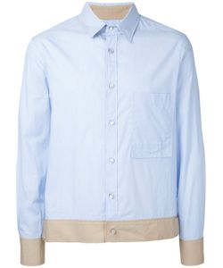 General Idea | Contrasting Hem Shirt Size 46