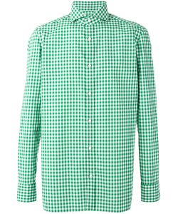 Borrelli | Checked Shirt 42 Cotton