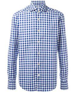 Kiton   Checked Shirt 41 Cotton