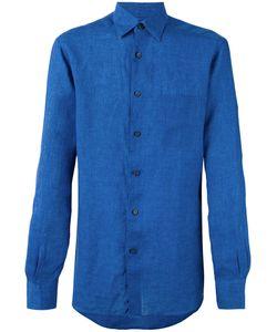 Ermenegildo Zegna | Long Sleeve Chambray Shirt