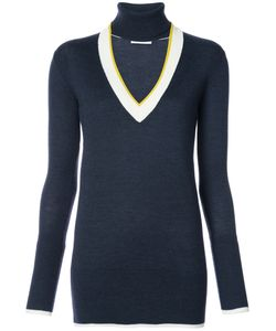 Tome | Open V Neck Knitted Top