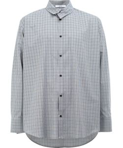 Aganovich | Asymmetric Collar Shirt 48 Cotton