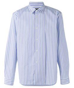 Comme Des Garçons Homme Plus   Striped Longsleeve Shirt Size Small