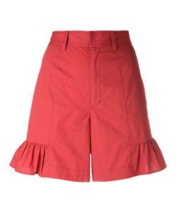 Muveil   Flared Hem Shorts 40