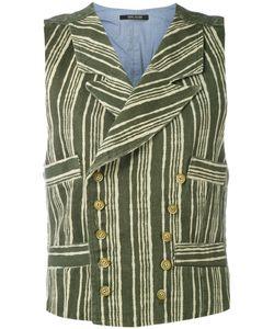 Ermanno Gallamini   Striped Waistcoat L