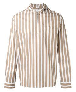 Cmmn Swdn | Hooded Striped Shirt Size 46