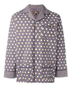 Otis Batterbee | Cobalt Cravat Pyjama Set Medium Cotton