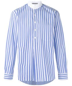 Andrea Pompilio | High Neck Striped Shirt