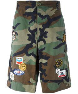 Htc Hollywood Trading Company   Camouflage Cargo Shorts Large Cotton