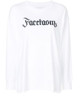 Facetasm | Logo Print Sweatshirt Women I