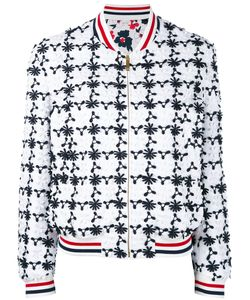 Thom Browne | Embroidered Bomber Jacket Women
