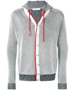 Pierre Balmain   Striped Hooded Jacket