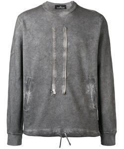 Stone Island Shadow Project | Zip Detail Sweatshirt Size Large