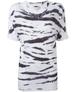 Faith Connexion   Zebra Print T-Shirt Size Small
