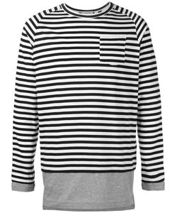 Wooster + Lardini | Striped Top Size Large