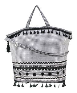 Dodo Bar Or | Embroidered Oversized Tote Women