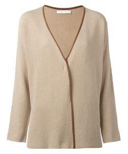 Fabiana Filippi | Leather Trim Cardigan Size 42