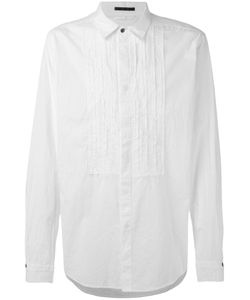 The Viridi-Anne | Pleated Front Shirt