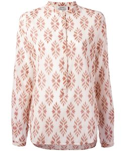 Forte Forte | Printed Front Placket Blouse Size Ii