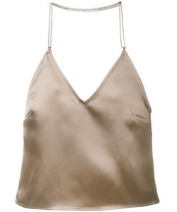 Barbara Casasola | Chain Strap Slip Top 42 Silk