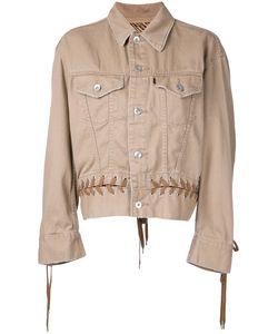G.V.G.V.   G.V.G.V. Denim Lace-Up Jacket 34