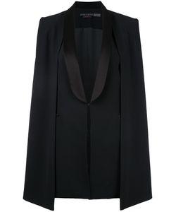 Alice + Olivia   Aliceolivia Merrie Shawl Collar Cape Vest Size Medium