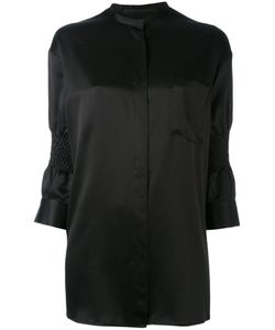 Haider Ackermann | Gathered Three-Quarters Sleeve Shirt