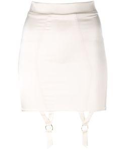 Murmur   Suspenders Applique Skirt 36