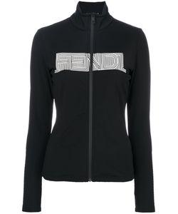 Fendi | Branded Zip Cardigan 40