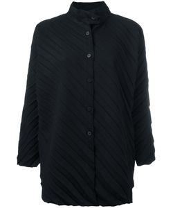 Issey Miyake Cauliflower | Ribbed Knitted Coat
