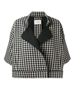 Dorothee Schumacher | Three-Quarters Sleeve Checked Jacket