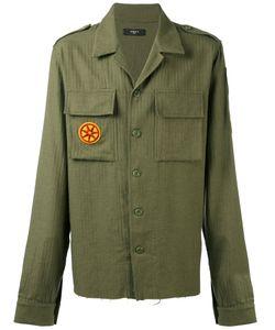 Amiri   Military Patch Shirt