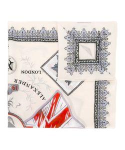Alexander McQueen | Skull Crest Scarf Cotton