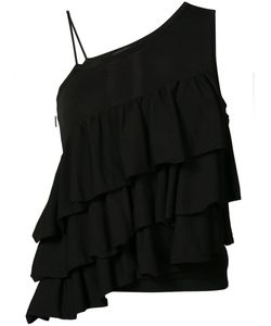 Co | Asymmetric Ruffled Blouse M