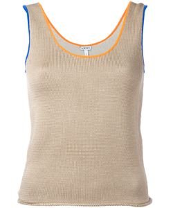 Loewe   Contrast Trim Knitted Vest Size Xs